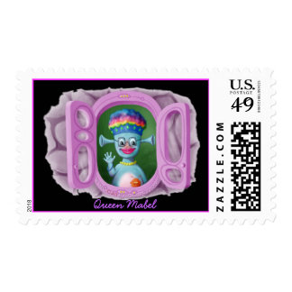 Queen Mabel & Cedric Postage Stamp