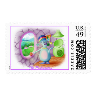Queen Mabel & Cedric Postage Stamps