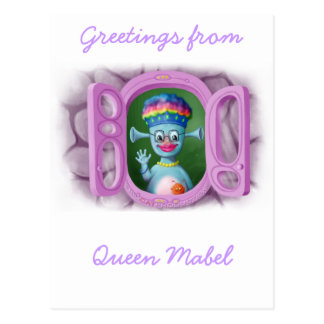 Queen Mabel & Cedric Postcard