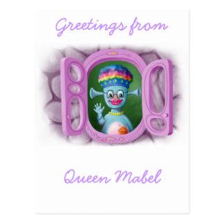 Queen Mabel & Cedric Postcard
