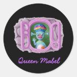 Queen Mabel & Cedric Sticker