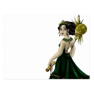 Queen Magnacious Postcard