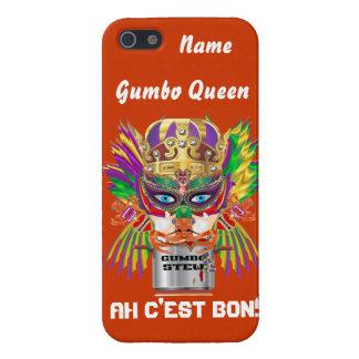 Queen Mardi Gras Gumbo View Hints please Case For iPhone 5