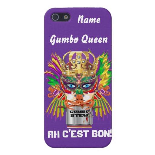 Queen Mardi Gras Gumbo View Hints please iPhone 5 Cases