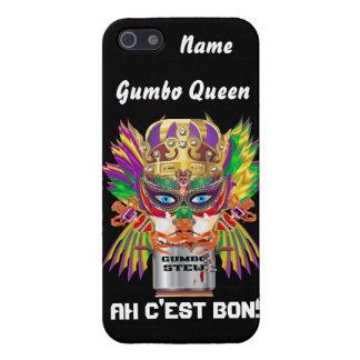 Queen Mardi Gras Gumbo View Hints please iPhone 5/5S Covers