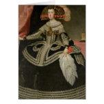Queen Maria Anna of Austria , c. 1652 Greeting Card