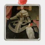 Queen Maria Anna of Austria , c. 1652 Metal Ornament