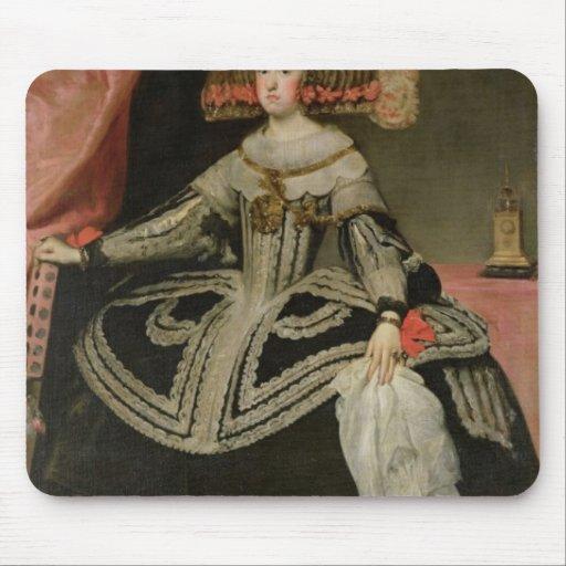 Queen Maria Anna of Austria , c. 1652 Mouse Pad