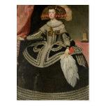 Queen Maria Anna of Austria , c. 1652 Postcard