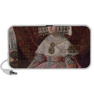 Queen Maria Anna of Spain in a red dress Mini Speaker
