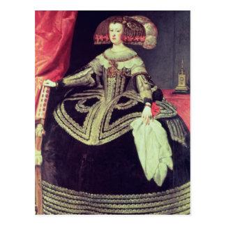 Queen Mariana of Austria  c.1653 Postcard