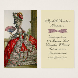 Queen Marie Antoinette - Business Card
