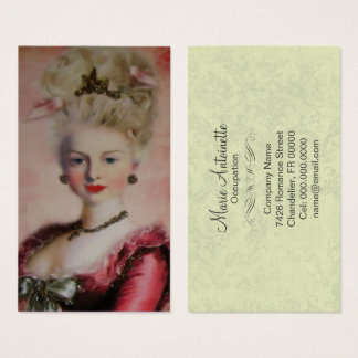 Queen Marie Antoinette - Business Card