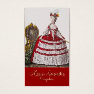Queen Marie Antoinette ~ Business Card
