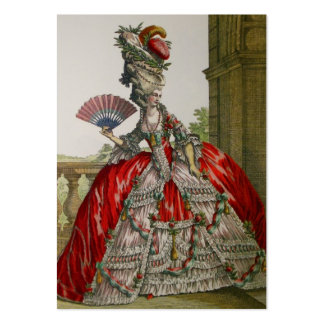 Queen Marie Antoinette Business Cards Large