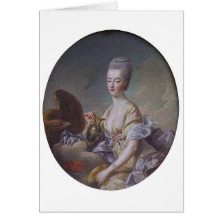 Queen Marie Antoinette by François Hubert Drouais Card