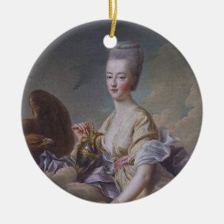 Queen Marie Antoinette by François Hubert Drouais Ceramic Ornament