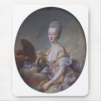 Queen Marie Antoinette by François Hubert Drouais Mouse Pad