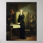 Queen Marie Antoinette in the Conciergerie Print