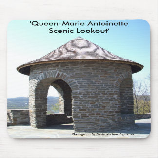 Queen Marie-Antoinette Scenic Lookout Mouse Pad