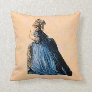 Queen Marie Antoinette ~ Throw Pillow