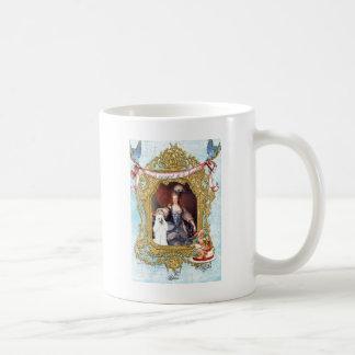 Queen Marie Antoinette White Poodle n Cake Coffee Mug