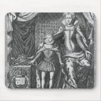 Queen Marie de Medicis and Louis XIII as a Mouse Pad