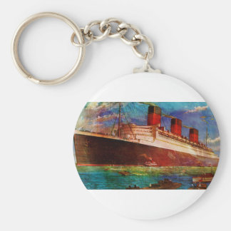 QUEEN MARY 1 KEYCHAIN