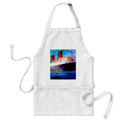 QUEEN MARY 2 ADULT APRON