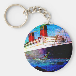QUEEN MARY 2 KEYCHAIN
