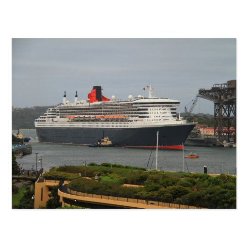 Queen Mary 2 Postal