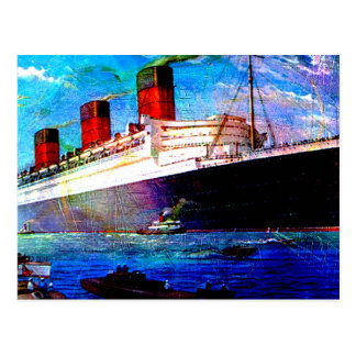 QUEEN MARY 2 POSTALES