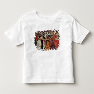 Queen Mary and Princess Elizabeth entering T-shirt