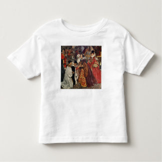 Queen Mary and Princess Elizabeth entering Toddler T-shirt