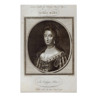 Queen Mary at Kensington Palace Poster