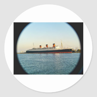 Queen Mary Classic Round Sticker