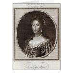 Queen Mary en el palacio de Kensington Felicitaciones