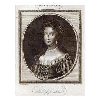 Queen Mary en el palacio de Kensington Postal