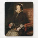 Queen Mary I de Inglaterra Maria Tudor por el MOR  Alfombrillas De Ratones