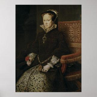 Queen Mary I de Inglaterra Poster