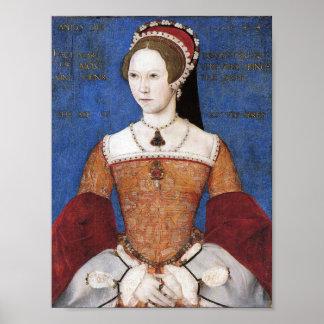 Queen Mary I de la impresión de Inglaterra