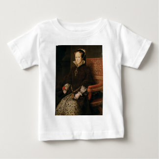 Queen Mary I of England Maria Tudor by Antonis Mor Baby T-Shirt