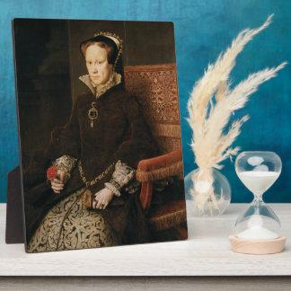 Queen Mary I of England Maria Tudor by Antonis Mor Plaque