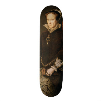 Queen Mary I of England Maria Tudor by Antonis Mor Skateboard