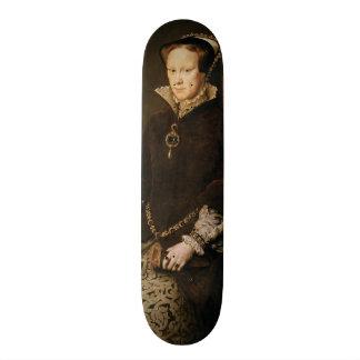 Queen Mary I of England Maria Tudor by Antonis Mor Skateboard