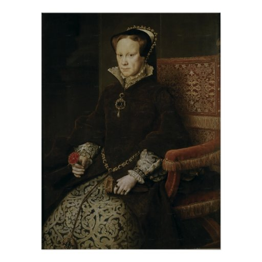 Queen Mary I of England Posters