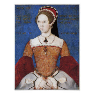 Queen Mary I of England Print