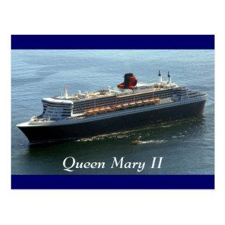 Queen Mary II, Queen Mary II Postcard