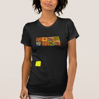 Queen Mary Of Teck, United Kingdom flag T-shirt