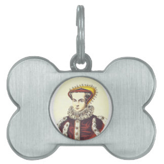 Queen Mary Pet ID Tag